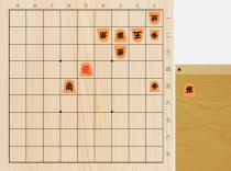 2018年10月24日のマイナビ詰将棋(5手詰)