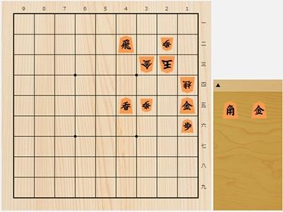 2019年3月16日の詰将棋(桐山清澄作、7手詰)