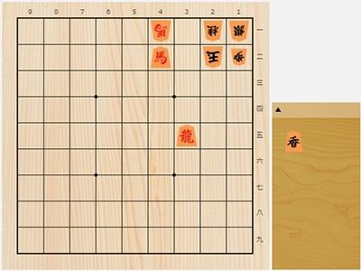2019年4月25日の詰将棋(3手詰)
