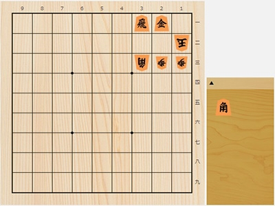 2019年5月28日の詰将棋(5手詰)