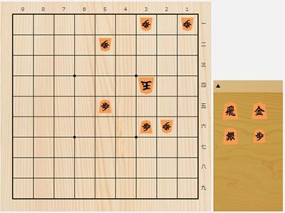 2019年5月25日の詰将棋(安西勝一作、11手詰)