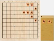 2019年6月8日の詰将棋(神谷広志作、9手詰)