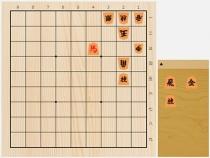 2019年6月15日の詰将棋(遠山雄亮作、7手詰)