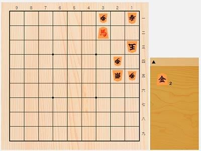2019年7月9日の詰将棋(5手詰)