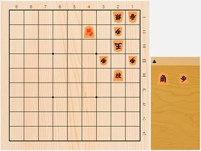 2019年7月16日の詰将棋(5手詰)