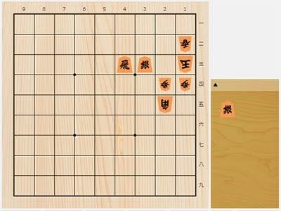 2019年8月2日の詰将棋(5手詰)