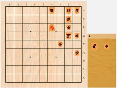 2019年8月16日の詰将棋(5手詰)