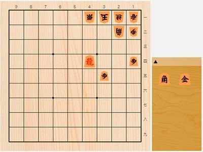 2019年11月5日の詰将棋(5手詰)
