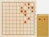 2020年1月5日の詰将棋(本間博作、11手詰)