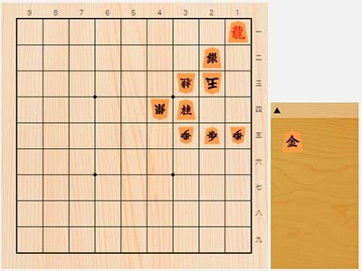 2020年2月3日の詰将棋(3手詰)