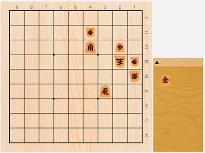 2020年2月17日の詰将棋(3手詰)