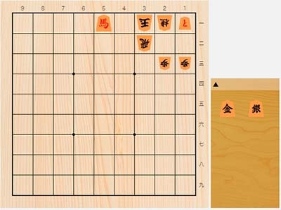 2020年2月25日の詰将棋(5手詰)