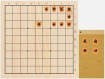 2020年3月21日の詰将棋(安西勝一作、9手詰)
