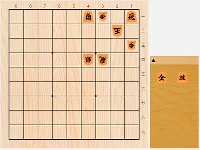 2020年4月3日の詰将棋(5手詰)
