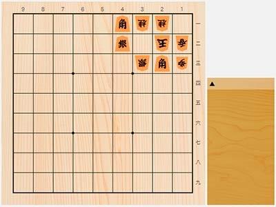 2020年5月9日の詰将棋(小林健二作、9手詰)
