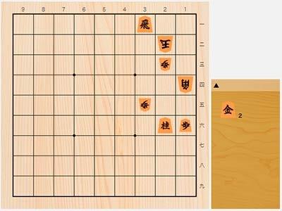 2020年5月13日の詰将棋(7手詰)
