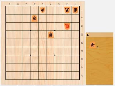 2020年5月26日の詰将棋(5手詰)