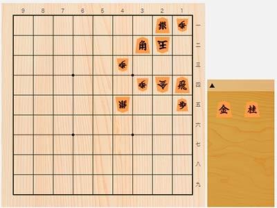 2020年5月27日の詰将棋(7手詰)