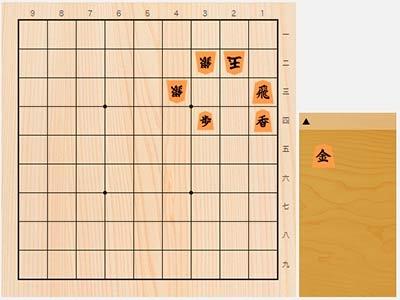 2020年6月8日の詰将棋(3手詰)