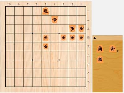 2020年6月14日の詰将棋(豊川孝弘作、11手詰)