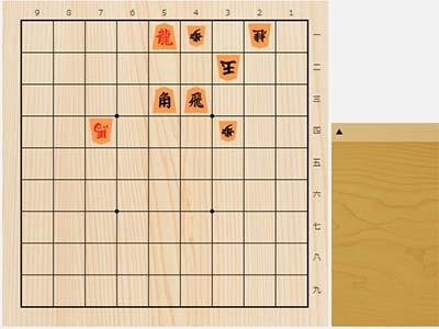 2020年6月22日の詰将棋(3手詰)