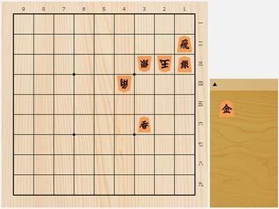 2020年8月3日の詰将棋(3手詰)