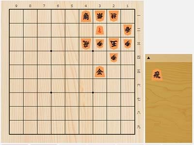 2020年8月6日の詰将棋(3手詰)