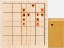 2020年8月8日の詰将棋(中村修作、7手詰)