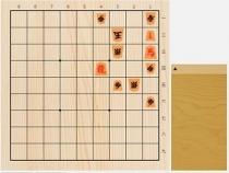 2020年8月11日の詰将棋(5手詰)