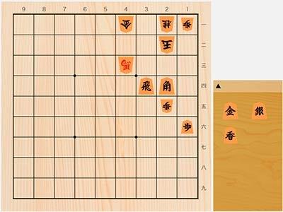 2020年8月20日の詰将棋(岡崎洋作、9手詰)