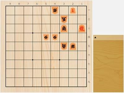 2020年8月24日の詰将棋(3手詰)