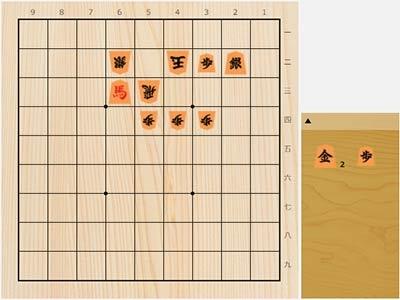2020年9月9日の詰将棋(杉本和陽作、9手詰)