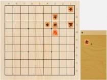2020年9月18日の詰将棋(5手詰)