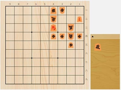 2020年10月13日の詰将棋(5手詰)