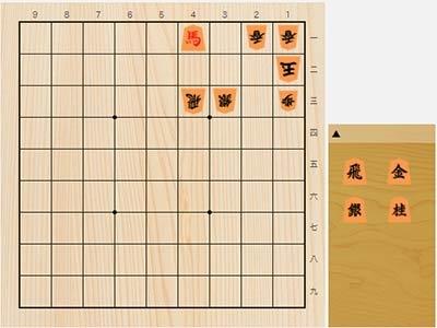 2021年1月21日の詰将棋(杉本和陽作、9手詰)