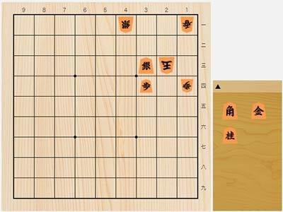 2021年2月5日の詰将棋(5手詰)