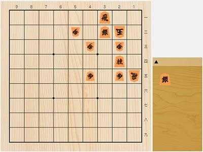 2021年2月15日の詰将棋(3手詰)