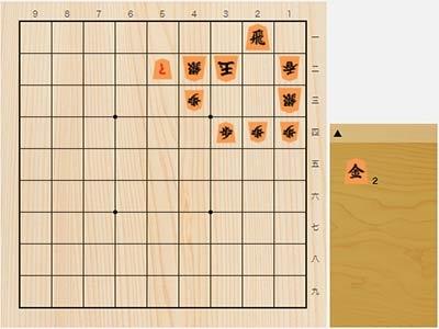 2021年2月19日の詰将棋(5手詰)
