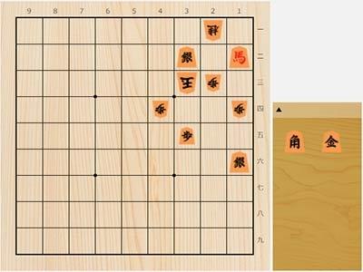 2021年4月5日の詰将棋(3手詰)