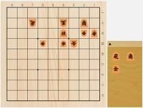 2021年4月14日の詰将棋(高田尚平作、9手詰)