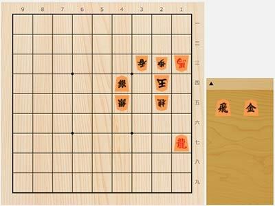 2021年4月20日の詰将棋(5手詰)