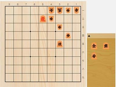 2021年5月3日の詰将棋(中田章道作、11手詰)