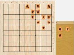 2021年5月13日の詰将棋(杉本和陽作、9手詰)