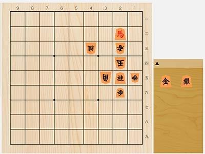 2021年6月5日の詰将棋(西村一義作、9手詰)