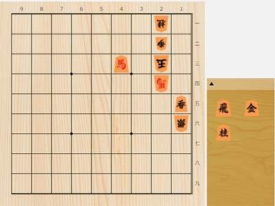2021年6月12日の詰将棋(竹内雄悟作、7手詰)