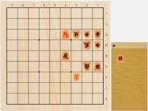 2021年6月18日の詰将棋(5手詰)