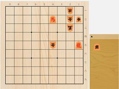 2021年7月12日の詰将棋(3手詰)