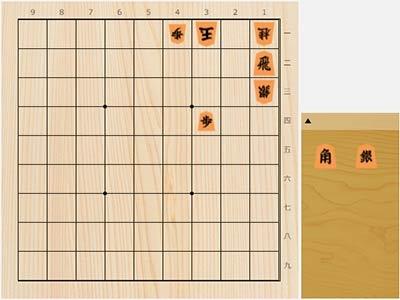 2021年7月23日の詰将棋(本間博作、9手詰)