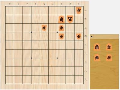 2021年7月28日の詰将棋(7手詰)