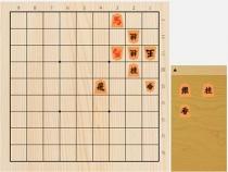 2021年8月1日の詰将棋(神谷広志作、11手詰)